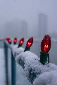 ueberschriftennew... lights and snow
