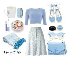 """""""tea party."""" by emi-the-queen ❤ liked on Polyvore featuring Thom Browne, Steve Madden, MM6 Maison Margiela, Givenchy, Marc by Marc Jacobs, Sephora Collection, Karl Lagerfeld, women's clothing, women and female"""