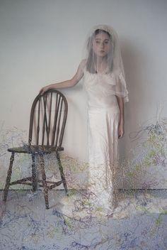 Embroidered Portraits by Melissa Zexter | iGNANT.de