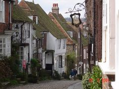 Mermaid Street, Rye near to Rye, East Sussex, Great Britain: http://www.geograph.org.uk/photo/72791#