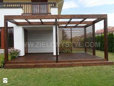 Pergola drewniana - zdjęcie od Zielony Styl -Projektowanie, realizacja ogrodów