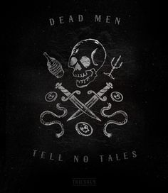 Dead Men Tell No Tales by Robbie Thiessen, via Behance