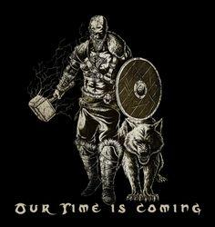 Viking Spirit DAMN RIGHT BRETHREN WE WILL RISE AGAIN!!!!!!!!!!!!!! Norse Pagan, Pagan Art, Norse Mythology, Viking Helmet, Viking Warrior, Viking Life, Viking Art, Thor, Loki