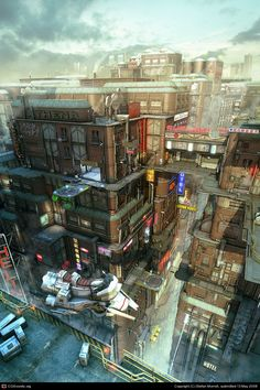 District 75 by Stefan Morrell   3D   CGSociety