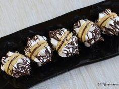 Fursecuri cu bezea si Nutella sau crema de ciocolata