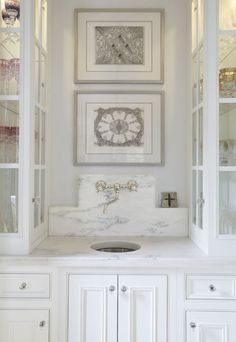 Cypress cabinets with lime wash homekitchen love for Kitchen cabinets lowes with my thoughtful wall letter art