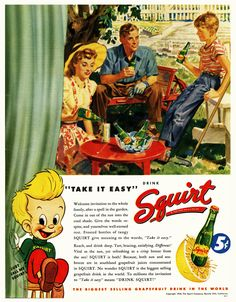 Take It Easy With Squirt | 1946. | By: paul.malon | Flickr - Photo Sharing!