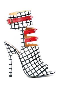 Fiona Studded Heeled Sandal by Alejandra G on @HauteLook