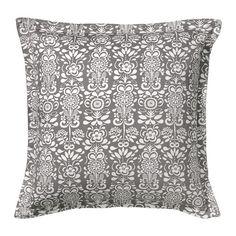 IKEA - ÅKERKULLA, Tyynynpäällinen, Tyynyn ilmettä on helppo muuttaa, sillä kumpikin puoli on erilainen.Vetoketjun ansiosta päällinen on helppo irrottaa.