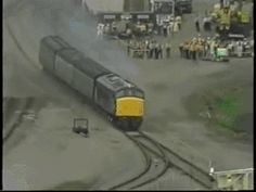 This is a train being crash tested: | 25 Pictures That Will Teach You Something For Once In Your Life