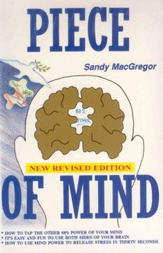Piece Of Mind by Sandy MacGregor. $9.83. Publisher: eBookIt.com (April 20, 2011). 204 pages