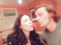 Outlander (@Outlander_STARZ) | Sam Heughan @SamHeughan  4/5/16 About to take over @iTunes Instagram with the wife! Come join! @caitrionambalfe