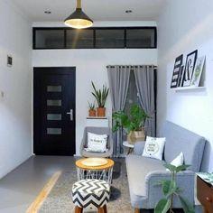 Tiny Living Rooms, Home Living Room, Living Room Designs, Living Room Decor, Cozy Living, Small House Interior Design, Home Room Design, Rooms Home Decor, Apartment Design