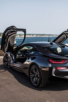 BMW i8 doors up! I love my BMW, but, I have to admit, this one is just a bit nicer...Hahaha