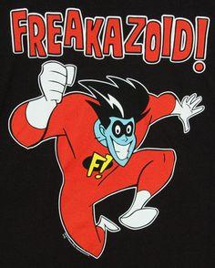 Runs around in underwear, Freakazoid, Freakazoid