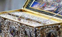 Πιερία: Μεταφορά της θαυματουργού Τιμίας Ζώνης της Θεοτόκο... Pinball, Decorative Boxes, Decorative Storage Boxes