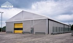 Shelter provide warehouse structure to saving you out of storage space shortage. It can be used as semi-permanents warehouse or commercial stores as well.