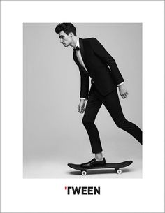 French Model Elliot Vulliod by Umit Savaci for Tween Spring Summer 2015 Campaign