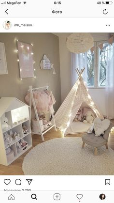 Deciding just how to make a little girls bed room something special for her to live and also take haven in isnt simple. These are 25 bedrooms filled with delightful suggestions for embellishing a womans space. These ideas may help. Baby Bedroom, Baby Room Decor, Nursery Room, Girls Bedroom, Bed Room, Girl Bedroom Designs, Bedroom Ideas, Toddler Rooms, Kids Room Design