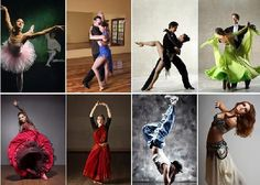 Types of Dances and Different Dancing Styles