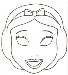 Junior City - Découpage Masques à imprimer