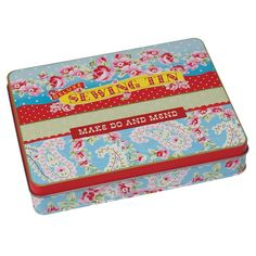 Paisley Deluxe Sewing Tin by The Haby Goddess