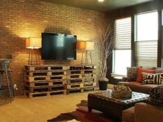 DIY Furniture for your Home - A&D Blog What a great way to re-purpose old pallets!