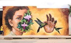 "713 curtidas, 1 comentários - @tschelovek_graffiti no Instagram: """"NÉCTAR"" by @zelva_1 inMoyobamba, Peru. Photo by @macoyzv. #zelva1 #zelva #joenadie #Moyobamba…"""