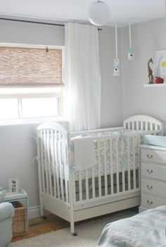 Before After Sketchy Bedroom To Bright Clean Nursery Urbane Jane Behr Paint