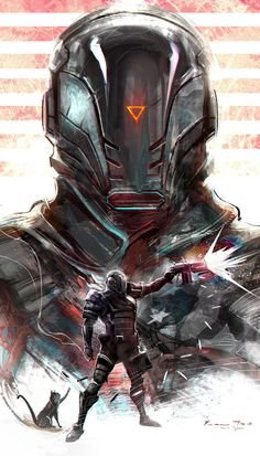 DeviantArt is the world's largest online social community for artists and art enthusiasts, allowing people to connect through the creation and sharing of art. Arte Sci Fi, Sci Fi Art, Fantasy Armor, Dark Fantasy, Armor Concept, Concept Art, Arte Cyberpunk, Cyberpunk Character, Futuristic Art