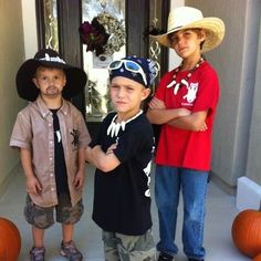 gator boys party ideas | gator boys halloween costume. Jimmy, Paul, and Scott. too cute. Carter ...