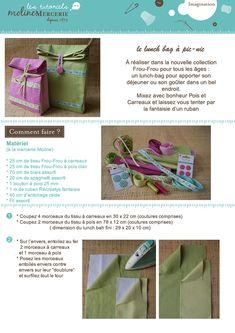 Frou-Frou : Le site d'inspirations et de DIY Blog Couture, Creation Couture, Mercerie Paris, Arts And Crafts, Diy Crafts, Frou Frou, Couture Sewing, Quilted Bag, Sewing Projects