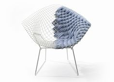 Uou! Design: clément brazille revamps bertoia's side chair with...