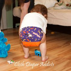 Daily Cute Fluffy Bum - Diapers by Chris - Cloth Diaper Addicts #Halloween