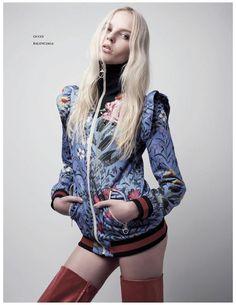Dreaming of Dior: Tereza Smejkalova for ELLE Singapore June 2017 Gucci Pre Fall 2017, Winter 2017, Fall Winter, Luxury Branding, Editorial Fashion, Singapore, Dior, Punk, Label