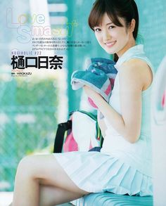 "Nogizaka46 Hina Higuchi ""Love Smash"" on Bubka Magazine Hina Higuchi Nogizaka46 Birthday: January 31, 1998 Nickname: Hinachima"