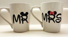 Check out this item in my Etsy shop https://www.etsy.com/listing/224478429/mr-and-mrs-disney-minnie-and-mickey