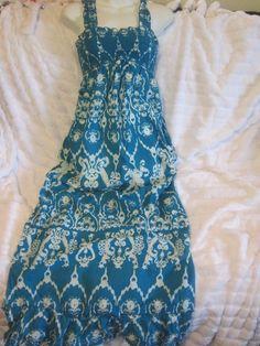 New W $40 Tags Kohl's Wear it Declare It Turkish Print Sundress Small #WearitDeclareIt #Sundress #Casual