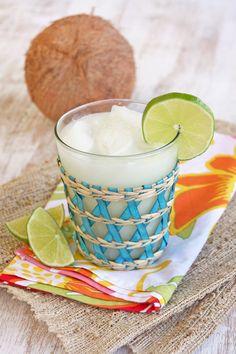 Coconut Kissed Brazilian Lemonade by Our Best Bites. It's a twist on my favorite drink: Brazilian Lemonade. Can't wait to try it!