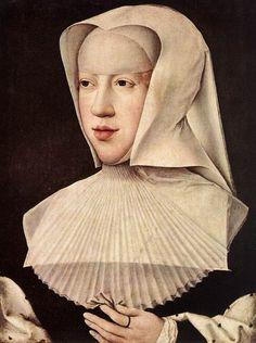ORLEY, Bernaert van Portrait of Margareta van Oostenrijk - Wood Musées Royaux…