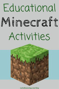 If you have a child or student who plays Minecraft, then you're going to love these free Educational Minecraft Activities!