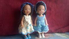 "Lovely dress for tiny doll 4""tall by AllaPtiHandmade on Etsy"