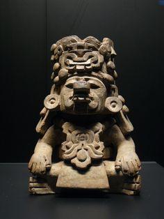 Zapoteca - Représentation du dieu de la pluie zapotèque, Cocijo.