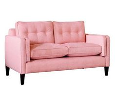 Laura Ashley Eaton « pink love seat for my studio  If I had a powder room, that's where I'd put you in , my beautiful pink love