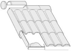 Roofing material made from recycled PET plastic - Tru2Earth