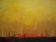 Abstract Painting - 6pm by Kate Tesch