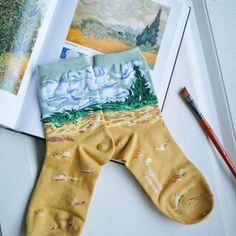 Art Series 4 Pack Socks