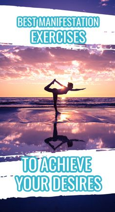 Build a life you want to live with these easy manifestation exercises.  #meditate #visionboard #gratitude Yoga To Relieve Stress, Release Stress, Get What You Want, Achieve Your Goals, Stress And Anxiety, Law Of Attraction, Life Is Good, Exercises, Prosperity Affirmations