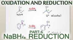 Sodium Borohydride NaBH4 Reduction Reaction Mechanism