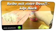 Mahlzeit. In diesem Video zeige ich euch, wie Ihr eine Reibe mit einer Dose selber bauen könnt. Ihr braucht dazu nur eine Dose und einen Schraubendreher und fertig ist die Reibe. Mehr dazu erfahrt Ihr im Video. Bei Fragen gerne fragen... #Video #Youtube #Tutorial #Lifehack #Diy #Reibe #Küchenreibe #Dose #Schraubendreher #selbermachen